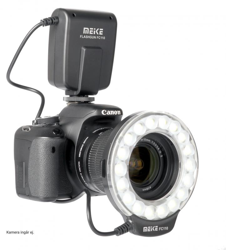 MEIKE MK-FC 110 LED RING FLASH 40,5-77MM
