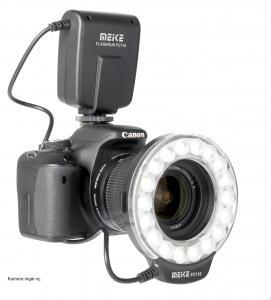 MEIKE MK-FC 110 LED RING FLASH 40,5-77MM