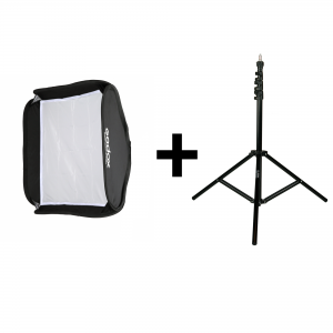 GODOX MAGIC SQUARE SOFTBOX 60X60CM + VC8008K