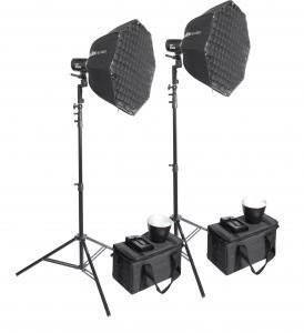 GODOX PAKET 2X ML60 + 2X AD-S60S + 2X VC8008K