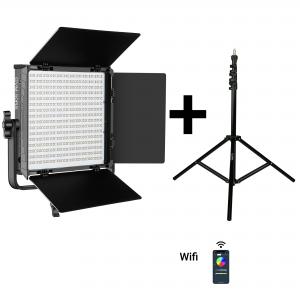 PAKET 1X GVM 50RS RGB LED PANEL + 1X VC8008K STATIV