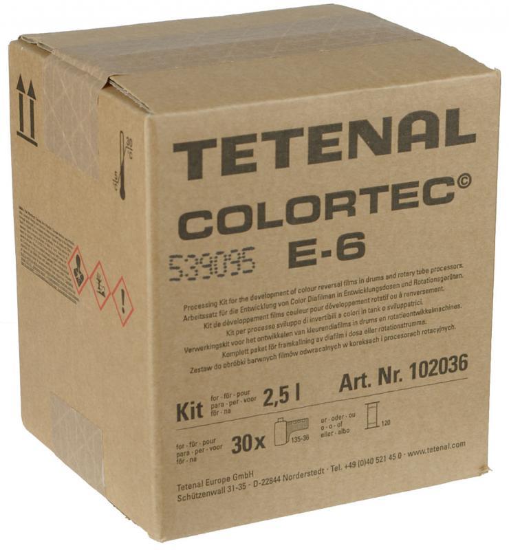 TETENAL COLORTEC E-6 3BAD  2,5 LITER