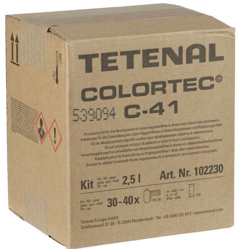 TETENAL COLORTEC C-41 2,5 LITER