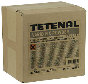 TETENAL VARIOFIX 2X5 LITER PULVER