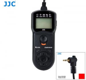 JJC TM LCD TRÅDUTLÖSARE & TIMER CANON RS-60E3, PENTAX