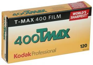5 PACK KODAK TMAX 400 120 SPOLE