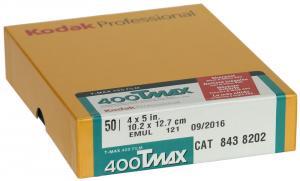 KODAK TMAX 400  4X5 50-BLAD