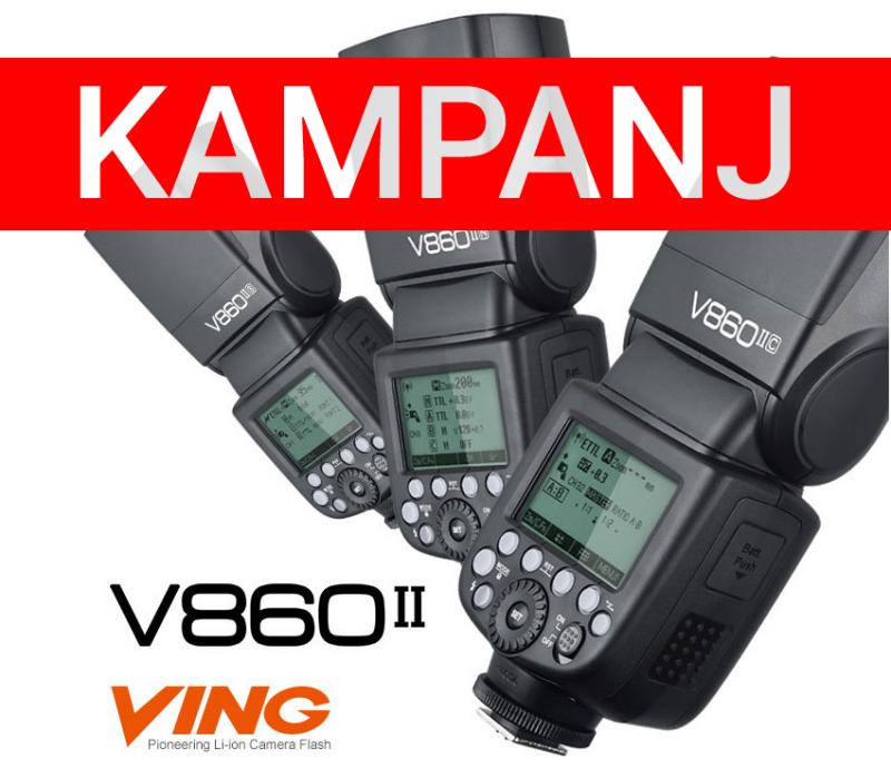 GODOX VING V860II KIT KAMERABLIXT FÖR FUJI X