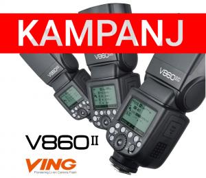 GODOX VING V860II KIT KAMERABLIXT FÖR NIKON