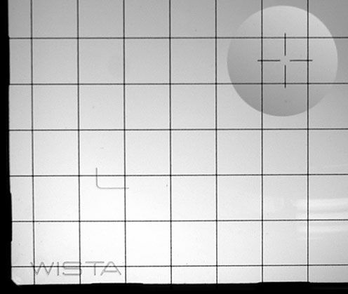 WISTA MATTSKIVA FRESNEL 8X10