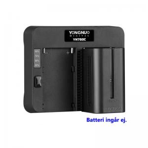 YONGNUO YN750C SPEED CHARGER FÖR NP-F BATTERIER
