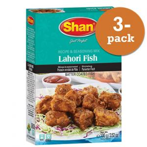 Lahori Fish 3x100g Shan