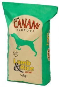 Hundfoder Lamm & Ris Light 10kg Canami