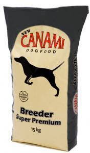 Hundfoder Breeder svart 15kg Canami