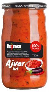 Ajvar Stark 3x700g Hina