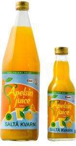 Apelsinjuice Eko Saltå Kvarn 12x750ml