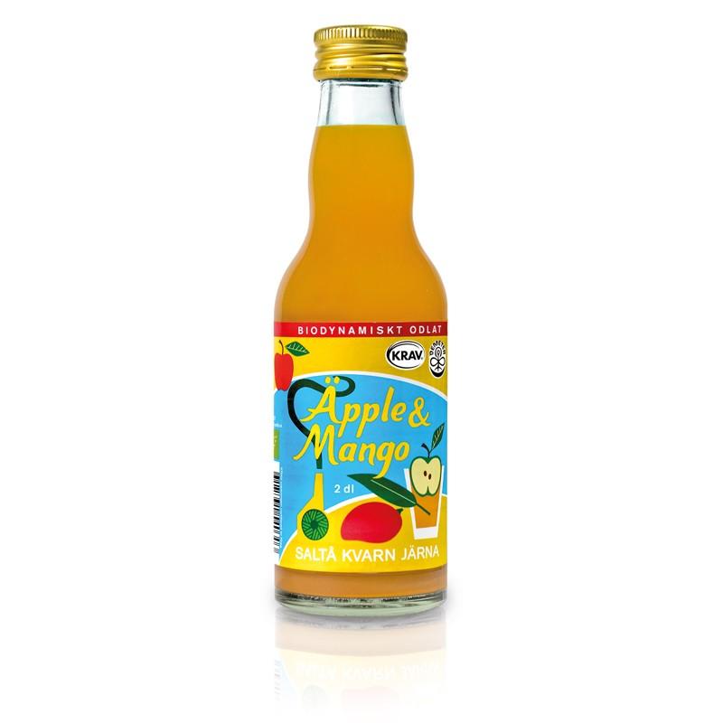 Juice Äpple & Mango Eko 6x200ml Saltå Kvarn