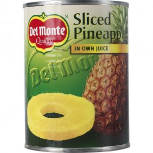 Ananas Skivor I Juice 12x560g Del Monte