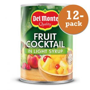 Fruktcocktail I Light Syrup 12x227g Del Monte