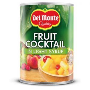 Fruktcocktail I Light Syrup 12x227g Del Monte