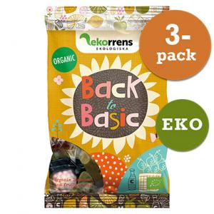 Back To Basics Godis 3x80g EKO Ekorrens