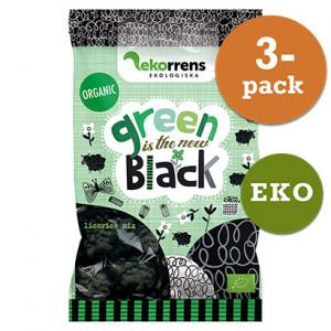 Green Is The New Black Godis 3x80g EKO Ekorrens