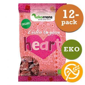 Listen To Your Heart Godis Glutenfri 12x80g EKO Ekorrens