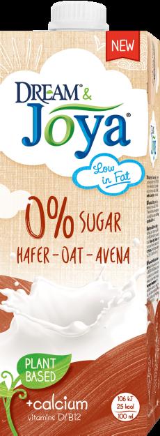 Havredryck 0% Socker Joya&Dream 2x1liter