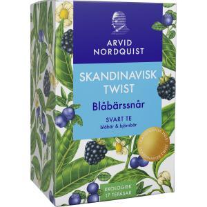 Grönt Te Blåbärssnår Eko 1x25påsar Arvid Nordquist