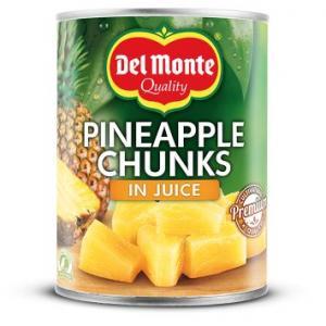 Ananas bitar I Juice Del Monte 24x227g