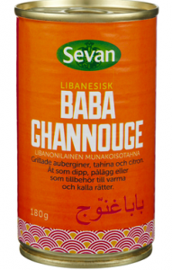 Baba Ghannouge 3x180g Sevan