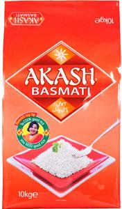 Basmatiris 10kg Akash