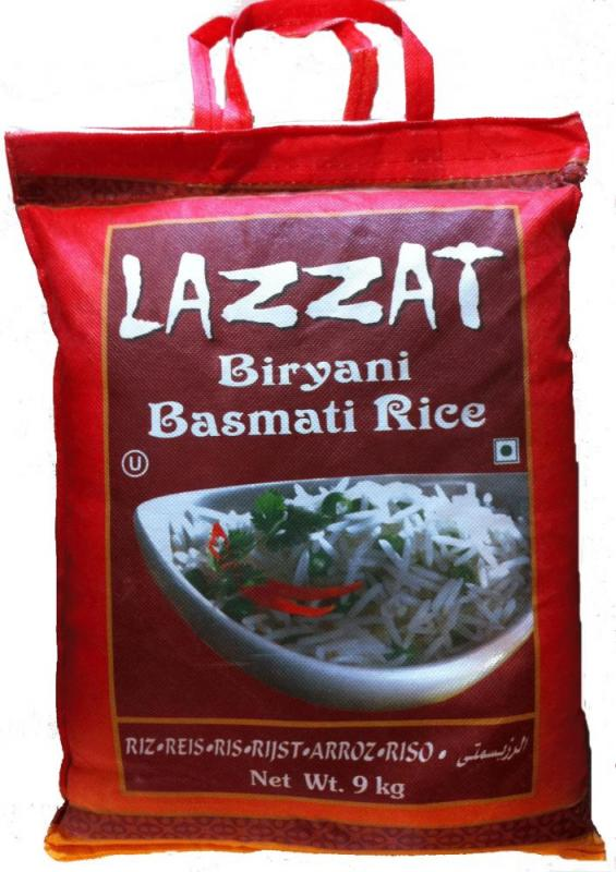Basmatiris 2x9kg Parboiled Biryani Lazzat