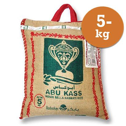 Basmatiris 5kg Abu Kass Parboiled