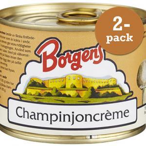 Champinjoncreme 2x185g Borgens