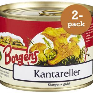 Kantareller 2x200g Borgens