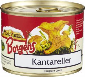 Kantareller 10x200g Borgens