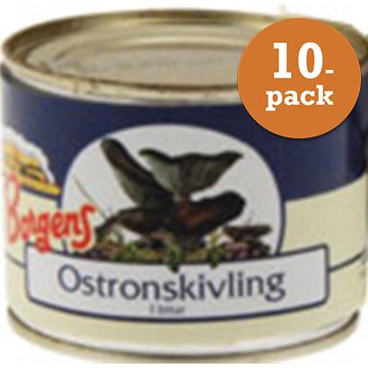 Ostronskivling 10x200g Borgens
