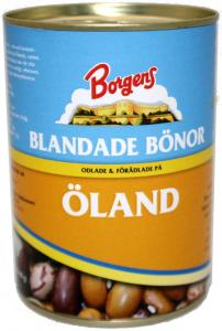 Blandade Bönor 12x410g Borgens