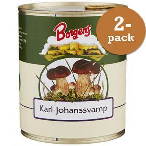 Karl Johan Svamp 2x800g Borgens