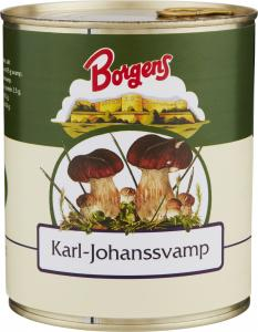Karl Johan Svamp 10x800g Borgens