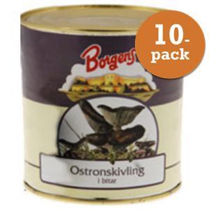 Ostronskivling 10x800g Borgens
