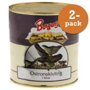 Ostronskivling 2x800g Borgens