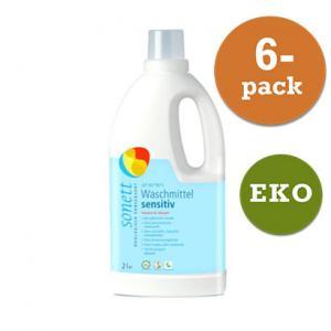 Tvättmedel Flytande Neutral EKO 6x2liter Sonett
