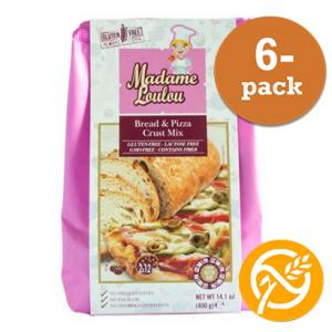 Bröd & Pizza Mix 6x400g Madame Loulou