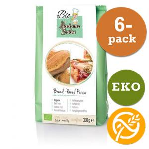 Bröd & Pizza Mix EKO 6x300g Madame Loulou