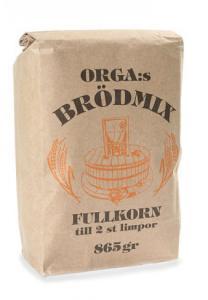 Brödmix Orga Kvarn 10x865g