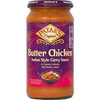 Mild Butter Chicken Sås 2x500g Patak´S