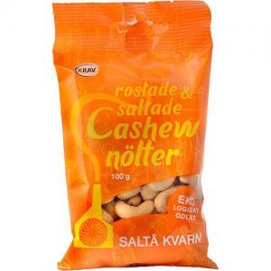 Cashewnötter Rostade 3x100g Saltå Kvarn