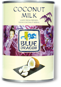 Kokosmjölk Blue Dragon 1/2 Pallx400ml